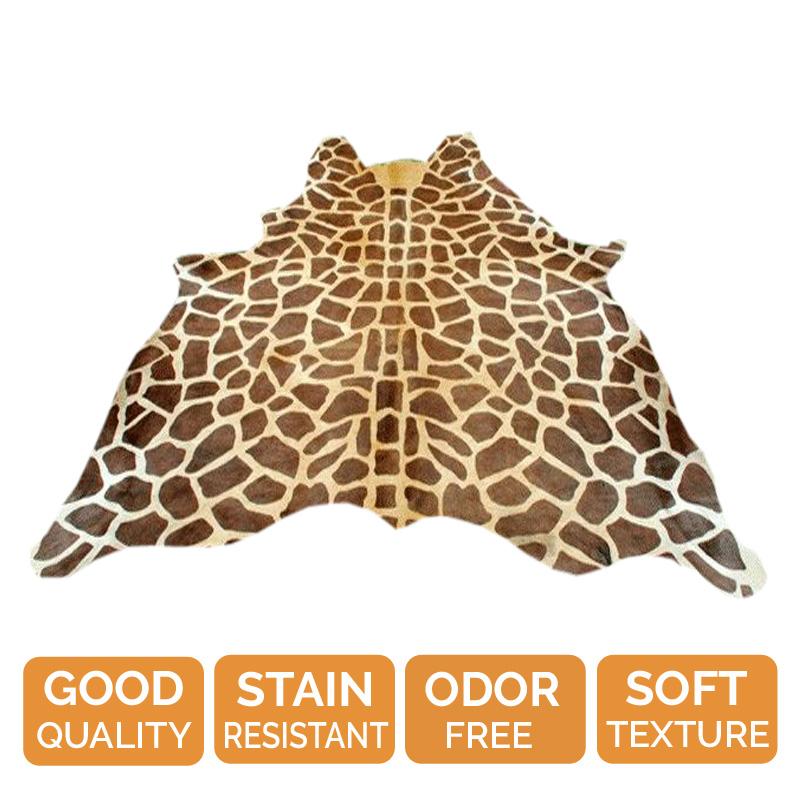 Giraffe Cowhide Rug