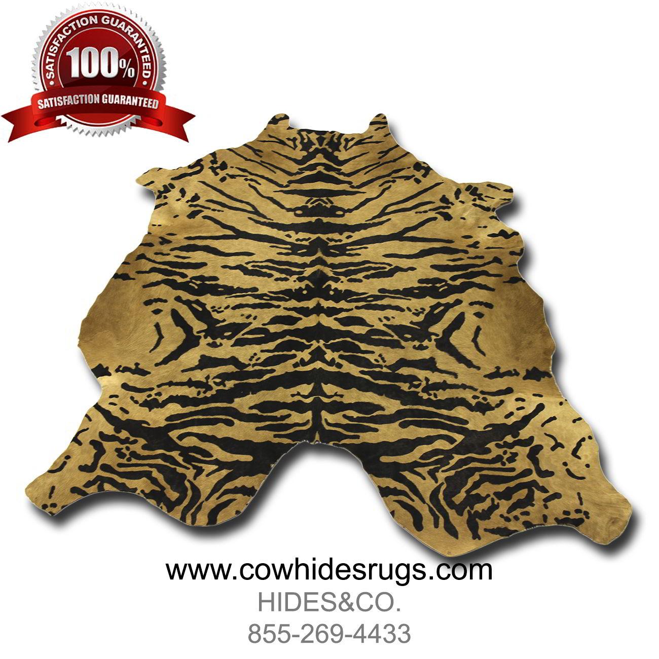 Tiger Print Cowhide CH EST26 ...