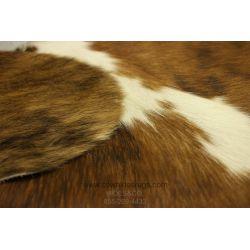 Brown White Brindle Cowhide CH-PTBBW35