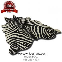 Black And White Zebra Cowhide CH-HSZBW28