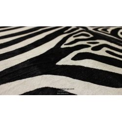 Exclusive Black And White Zebra Cowhide CH-HSZBW28