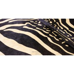 Light Brown Zebra Cowhide