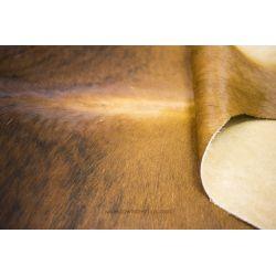 Brown Brindle Cowhide