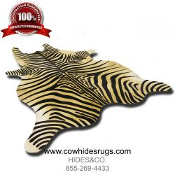 Soft Brown Zebra Cowhide CH-HSZC22