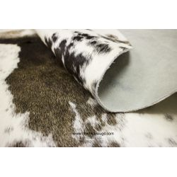Spotty Black White Cowhide CH-PEBBW41