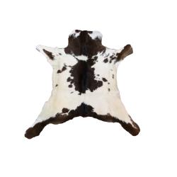 Black and White Speckled Calfskin Rug