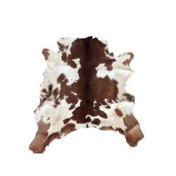 Brown and White Freckles Rug
