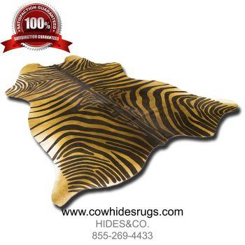 Brown Zebra Cowhide CH-HSZC23