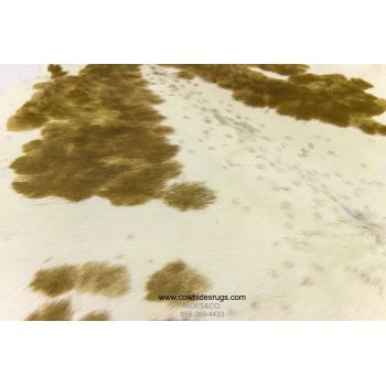 Golden Brown With White Cowhide CH-HBBRW16