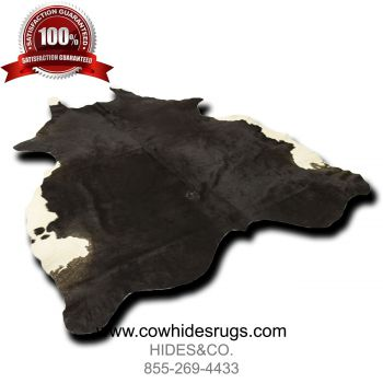 Royal Black and White Cowhide CH-PBWBW38