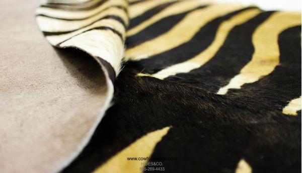 Tan Zebra Cowhide CH-HSZC25