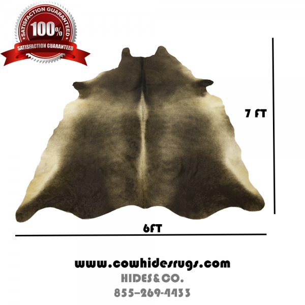 Dark Sheen Cowhide