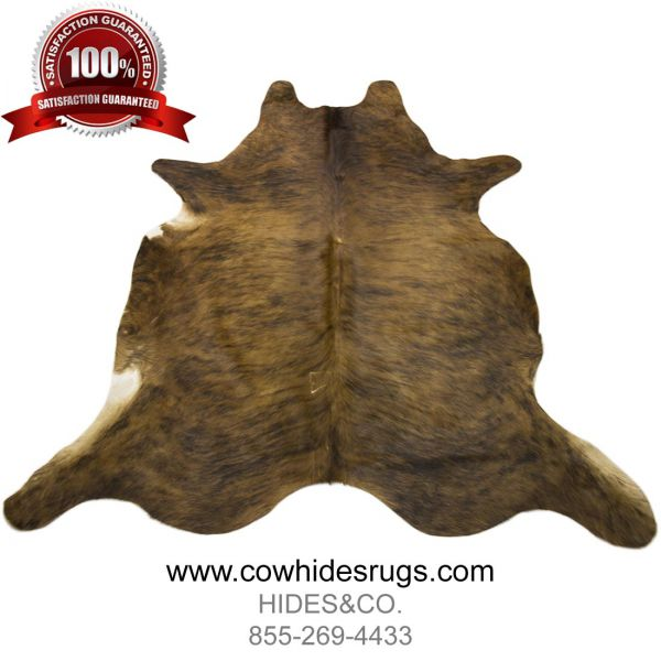 Brindle Brown Cowhide