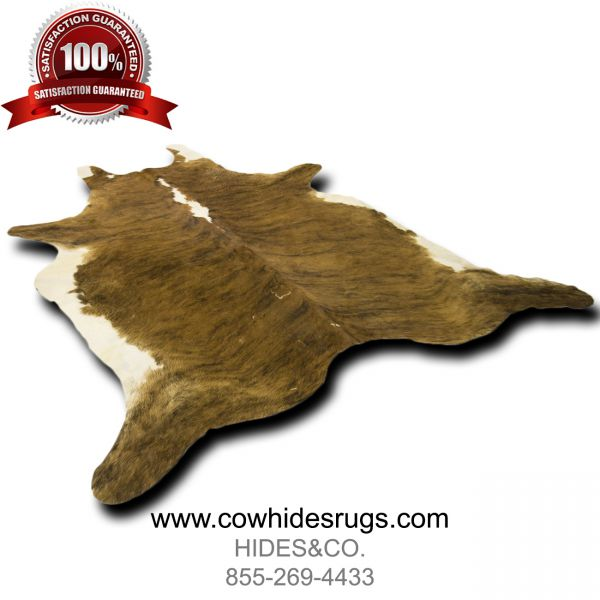 Brown White Brindle Cowhide CH-PTBBW35