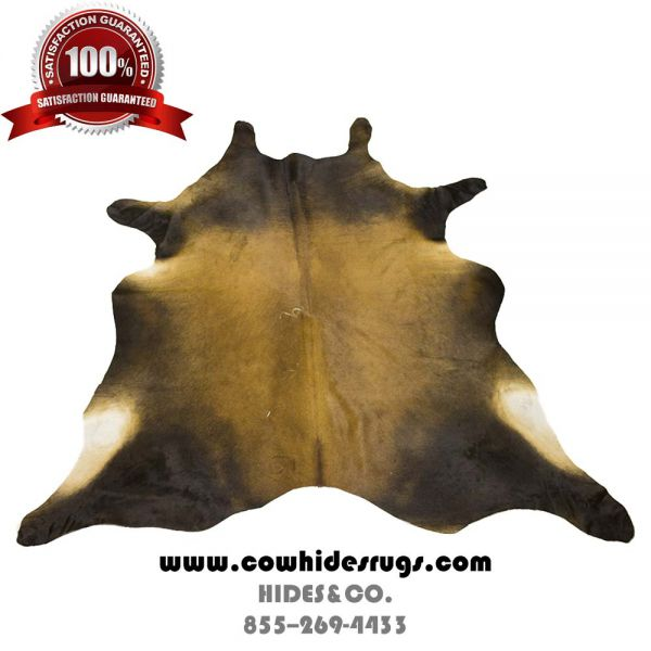 Brown, White and Grey Cowhide CH-ETBBW9