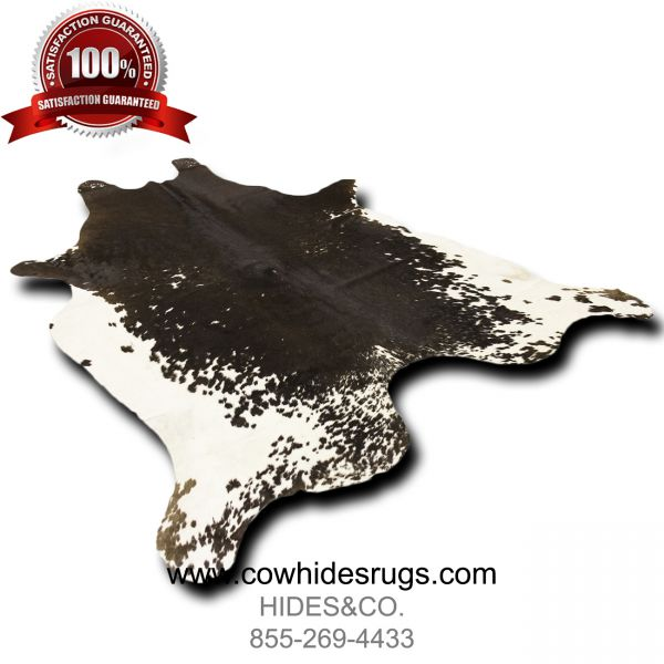 Classy Black and White Cowhide