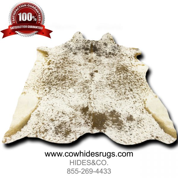 Cream-Brown-Spots-Cowhide