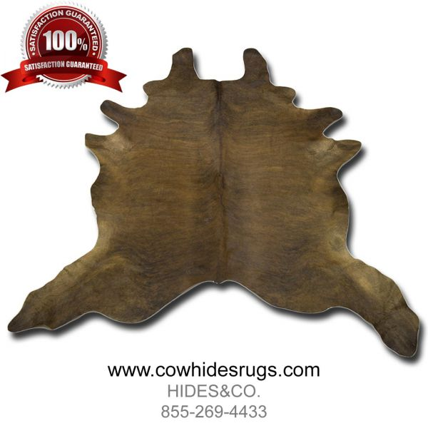 Dark-Brown-Brindle-Cowhide