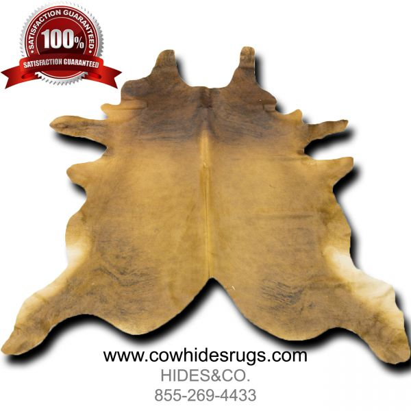 Brown Brindle Cowhide