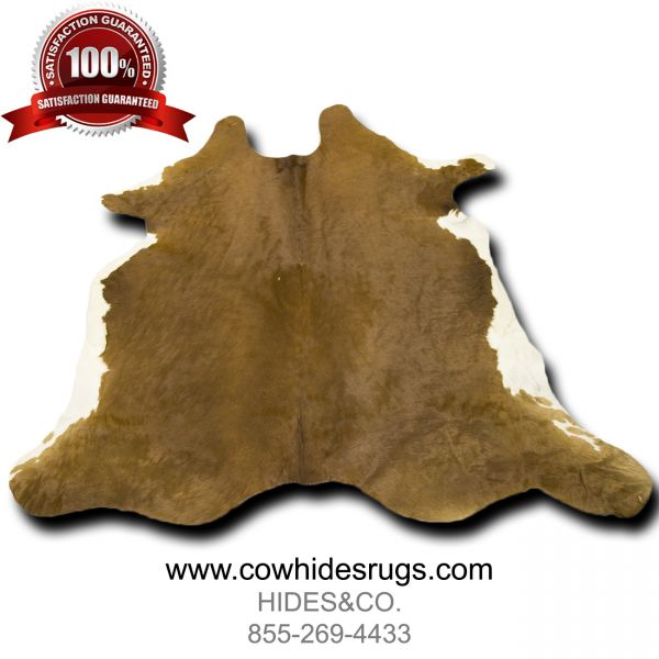 Iridescent Brown White Cowhide CH-PBRWBRW19