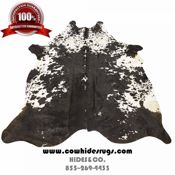 Spotty Black on White Stunning Cowhide CH-PBWBW17