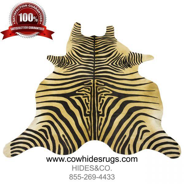 Soft Brown Zebra Cowhide CH-HSZC22